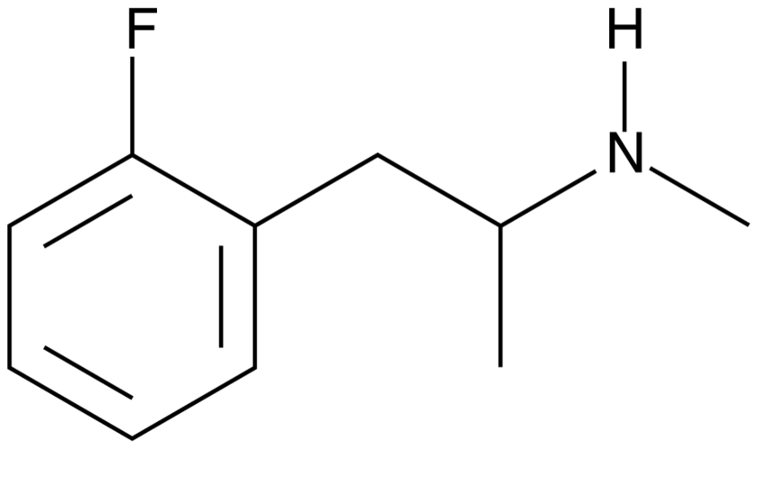 2-Fluoromethamphetamin / 2-FMA – RC Upper & Methamphetamin Analog