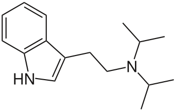 DiPT (Diisopropyltryptamin) – Akustisches Psychedelikum, Research Chemical (Substanzinfo)